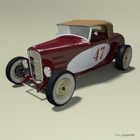 ford model b 3D models