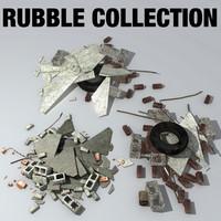 Tire Pile 3D models