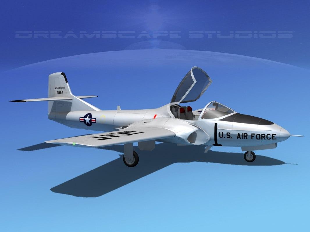Cessna T-37 Tweetybird V01 USAF