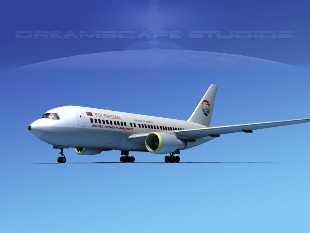 Boeing 767-100 Polynesian