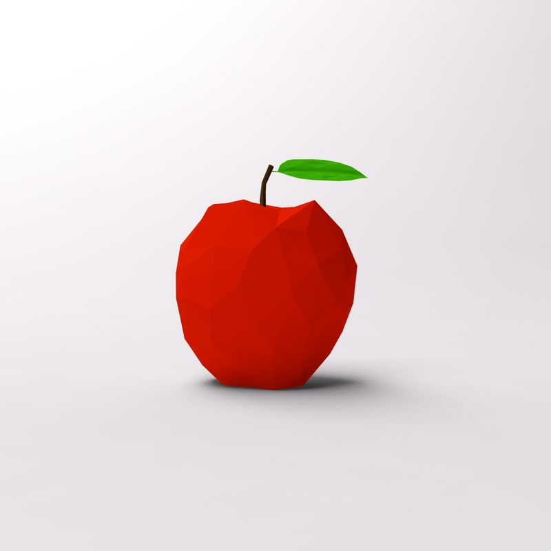 Cartoon low poly apple 1.jpg