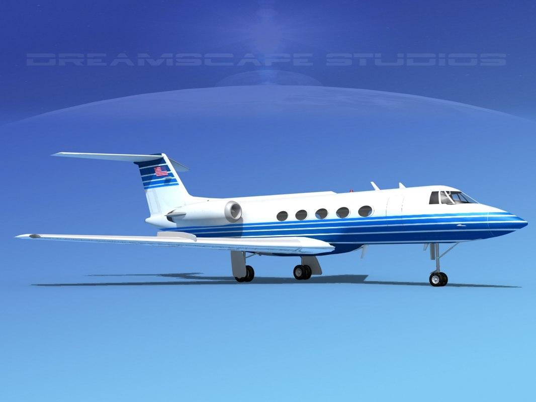 Grumman Gulfstream C-IIB V12
