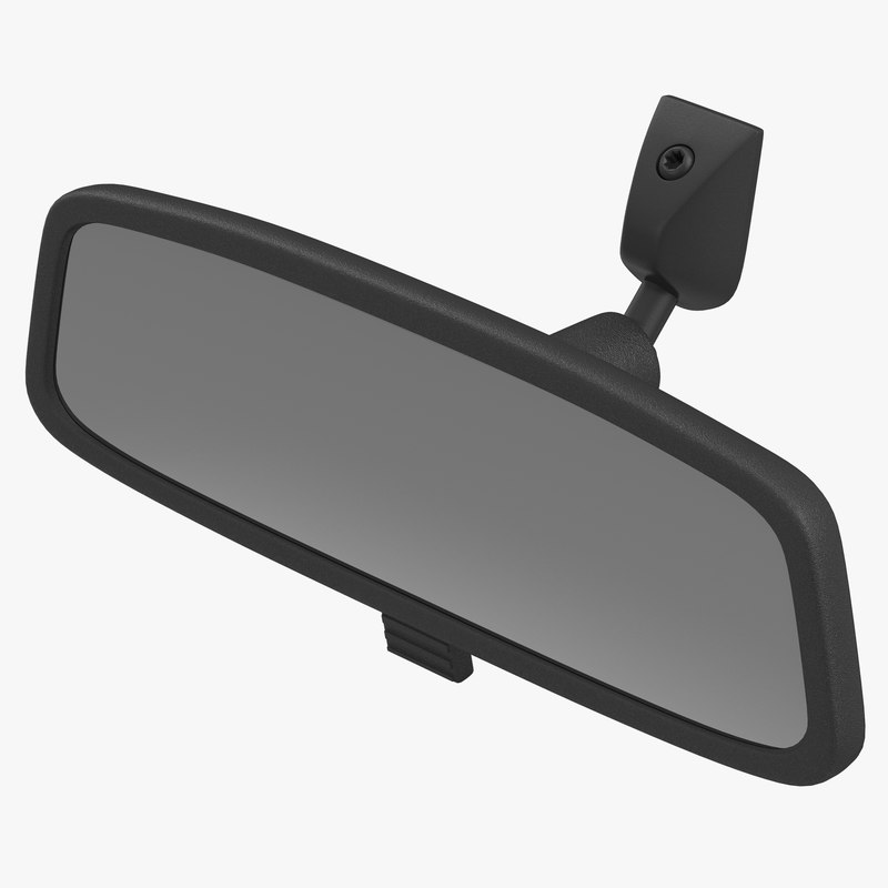 3d car rearview mirror for Mirror 3d model
