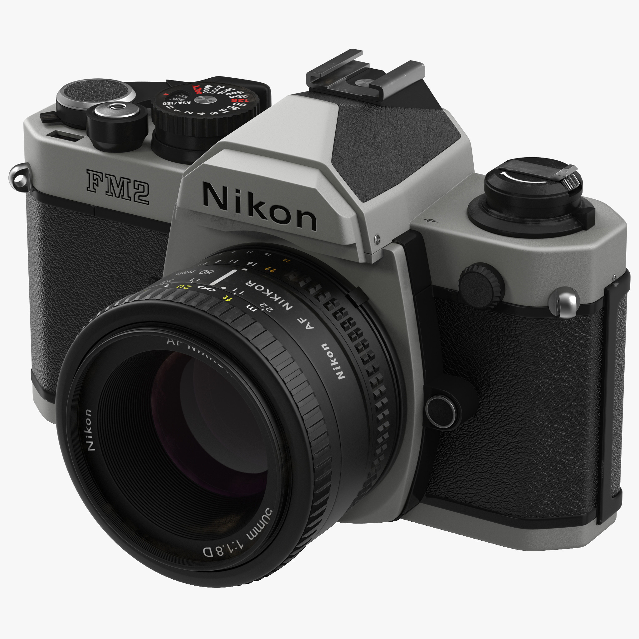 35 mm Film Camera Nikon FM2 3d model 01.jpg