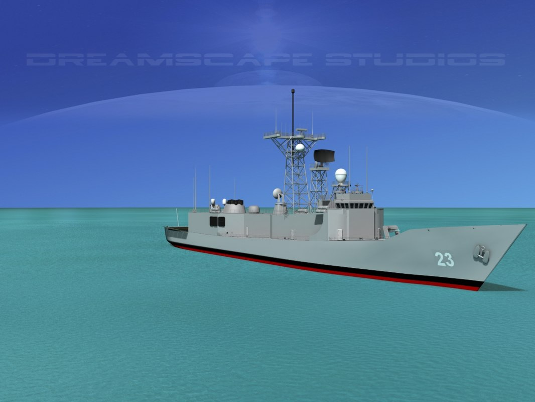 FFG-23 USS Lewis B Puller Perry Class Frigate