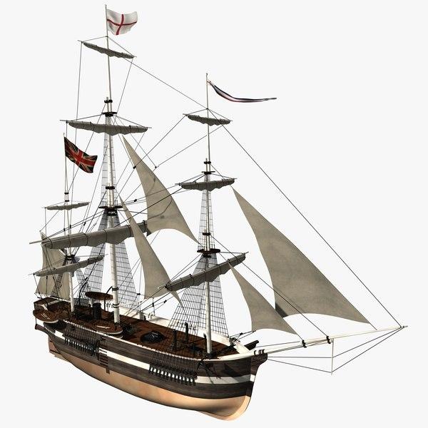 Bomb Ship 3D Models