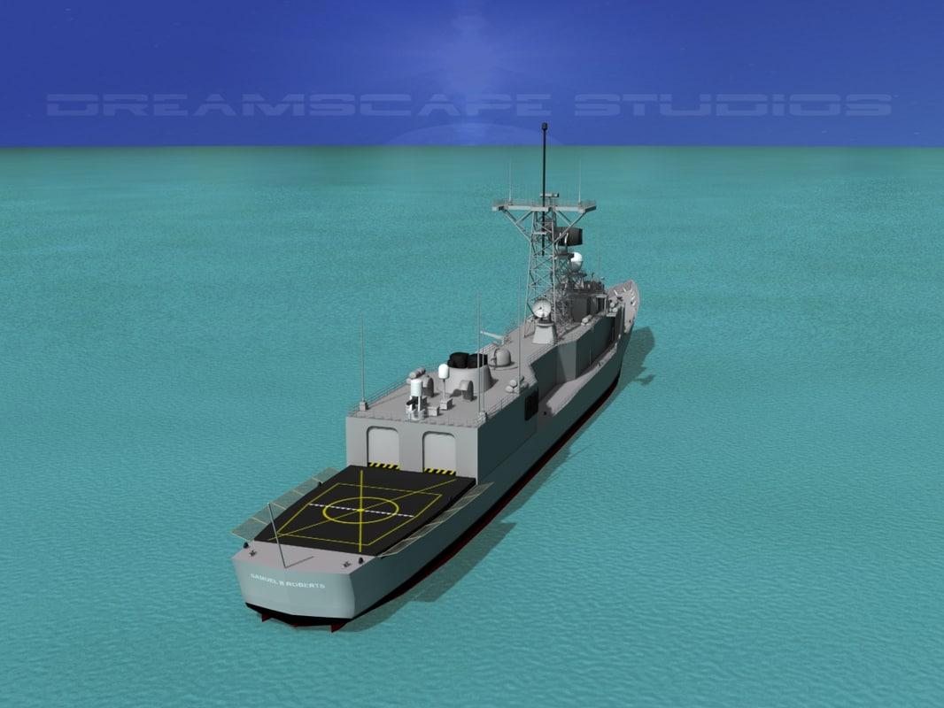 FFG-58 USS Samuel B Roberts Perry Class Frigate