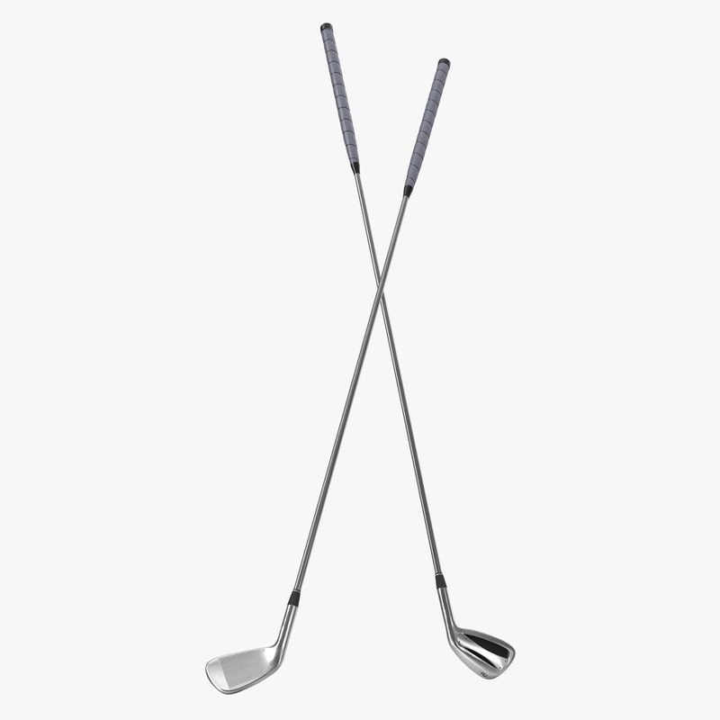 2 Iron Golf Club Generic 3d model 01.jpg
