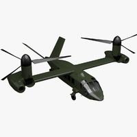 tiltrotor 3D models