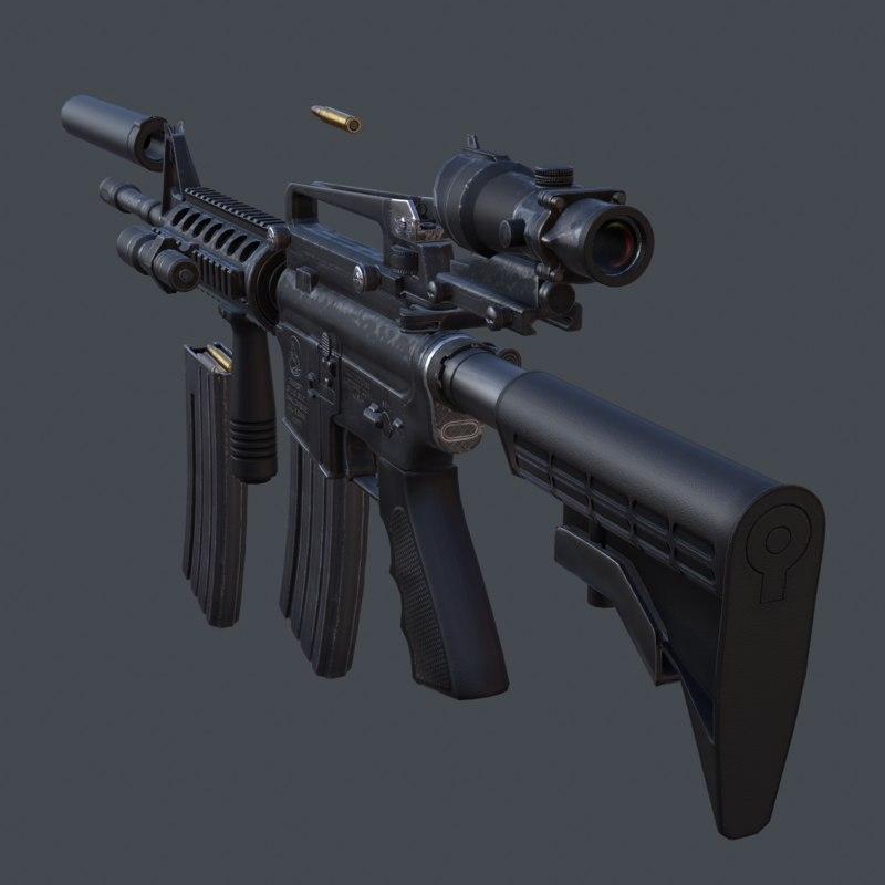 3DRT-modern firearms HD vol3