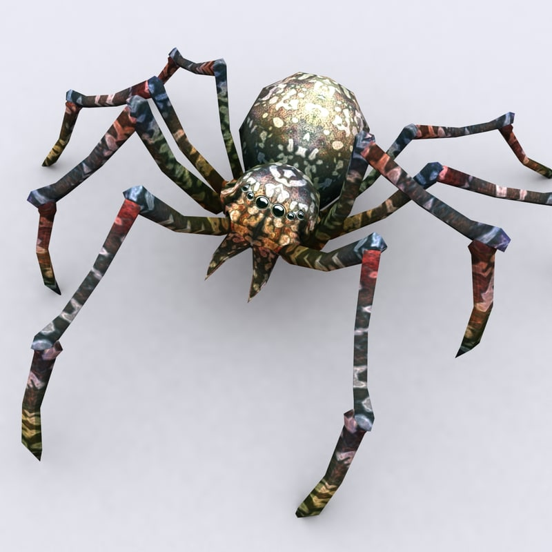 3DRT- Spiders pack