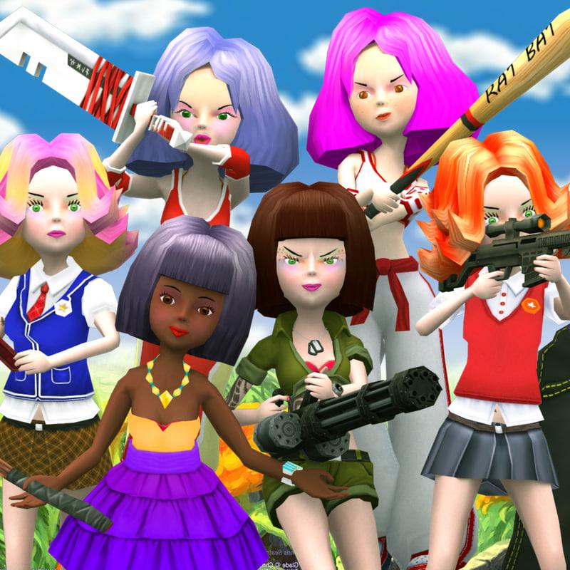 3DRT-Candy girls squad