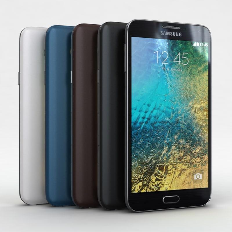Samsung Galaxy E7 All Color