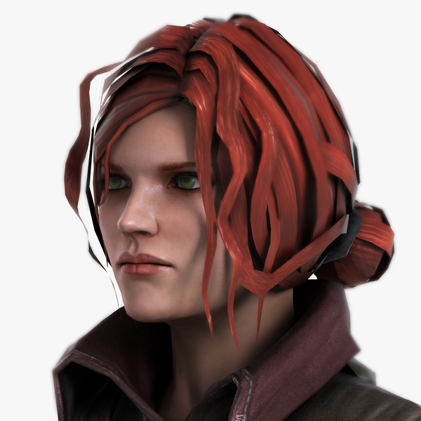 Triss_Game Character Texture Maps