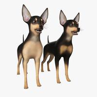Pinscher 3D models