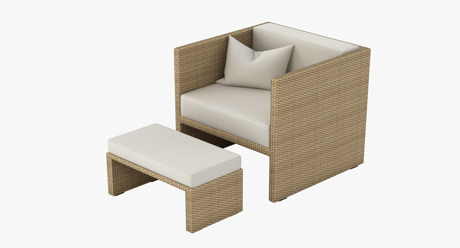 Outdoor Lounge Armchair 002