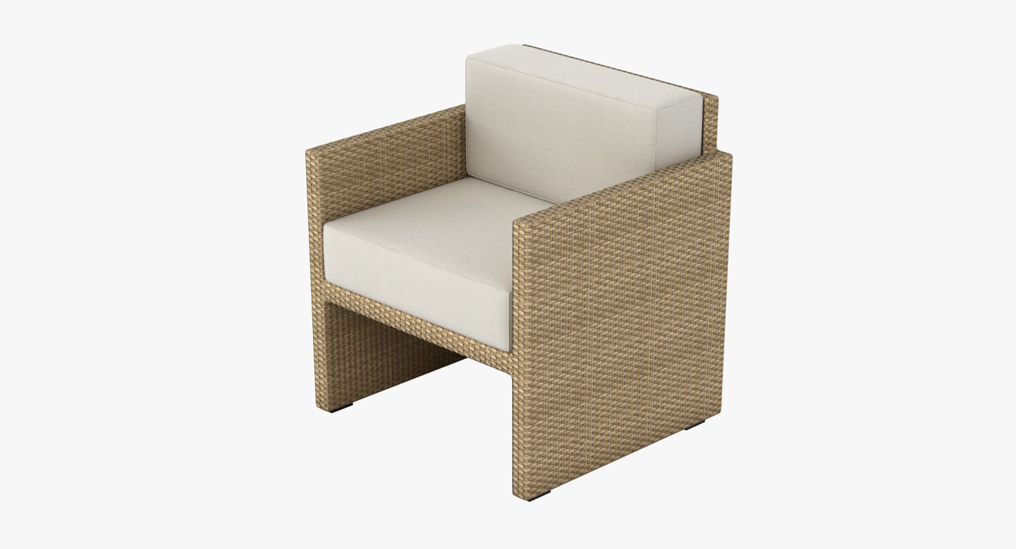Outdoor Lounge Chair 002
