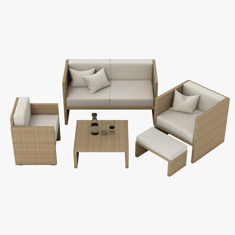 Outdoor Lounge Set 004