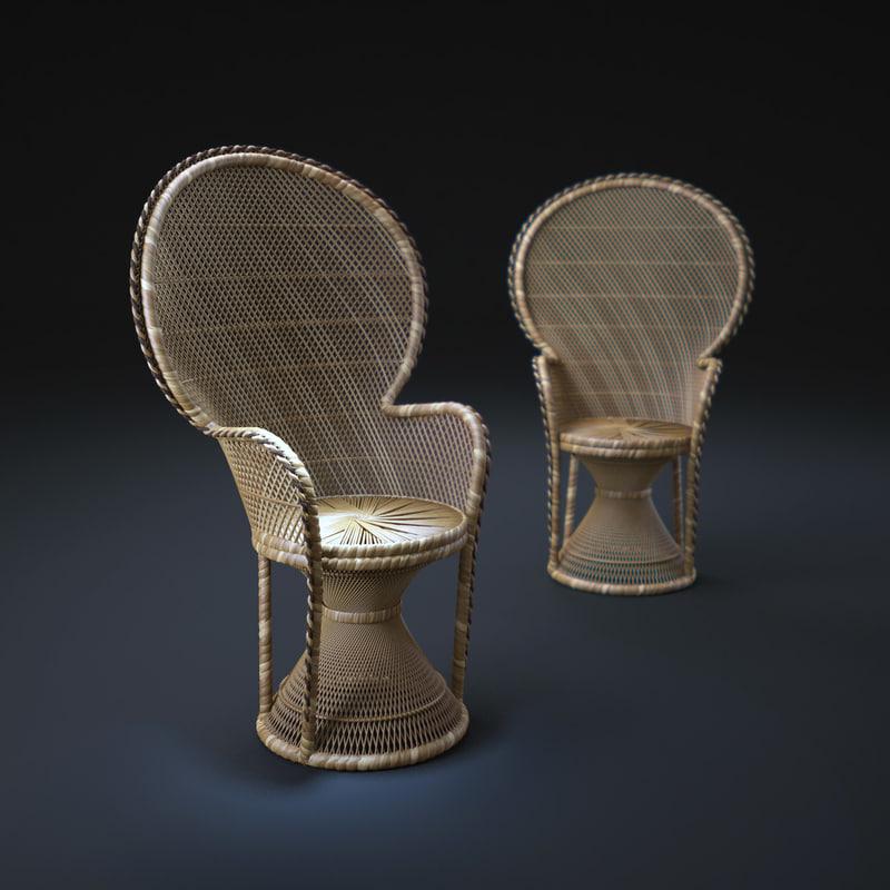 Wicker-Peacock-Chair