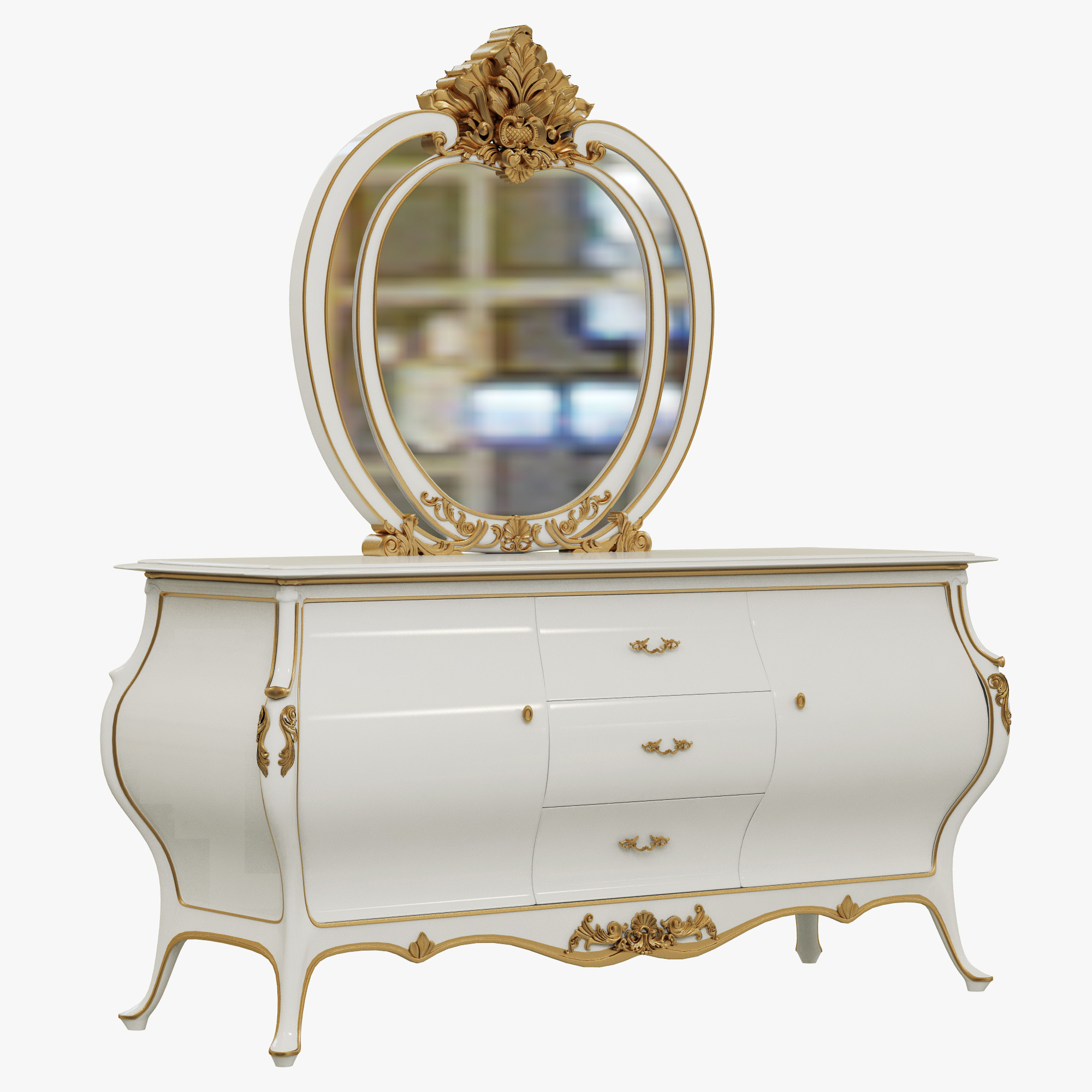 InStyle Faberge dressing table