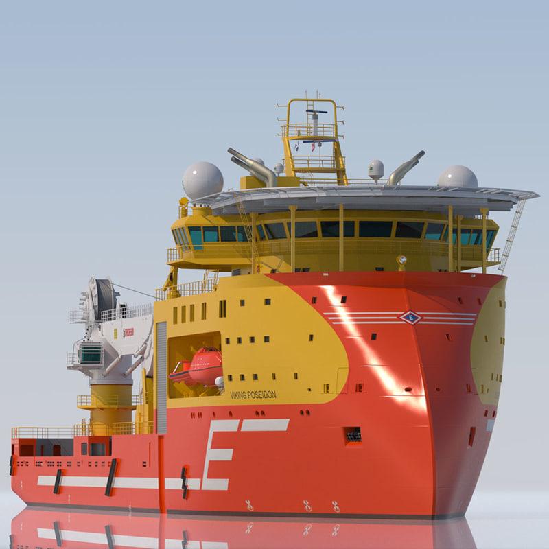 Offshore Construction Vessel Viking Poseidon