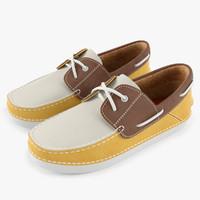 Boat Shoes 3D models