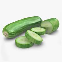 cucumber 3D models