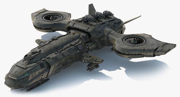 Dropship / Spaceship 3D Models