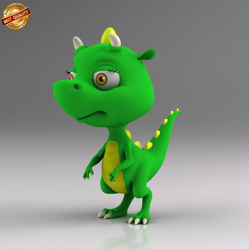 Cartoon Baby Dinosaur