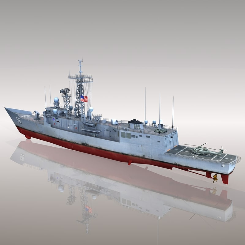 Frigate USS Samuel B. Roberts FFG-58