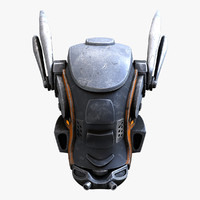 robot head 3D models