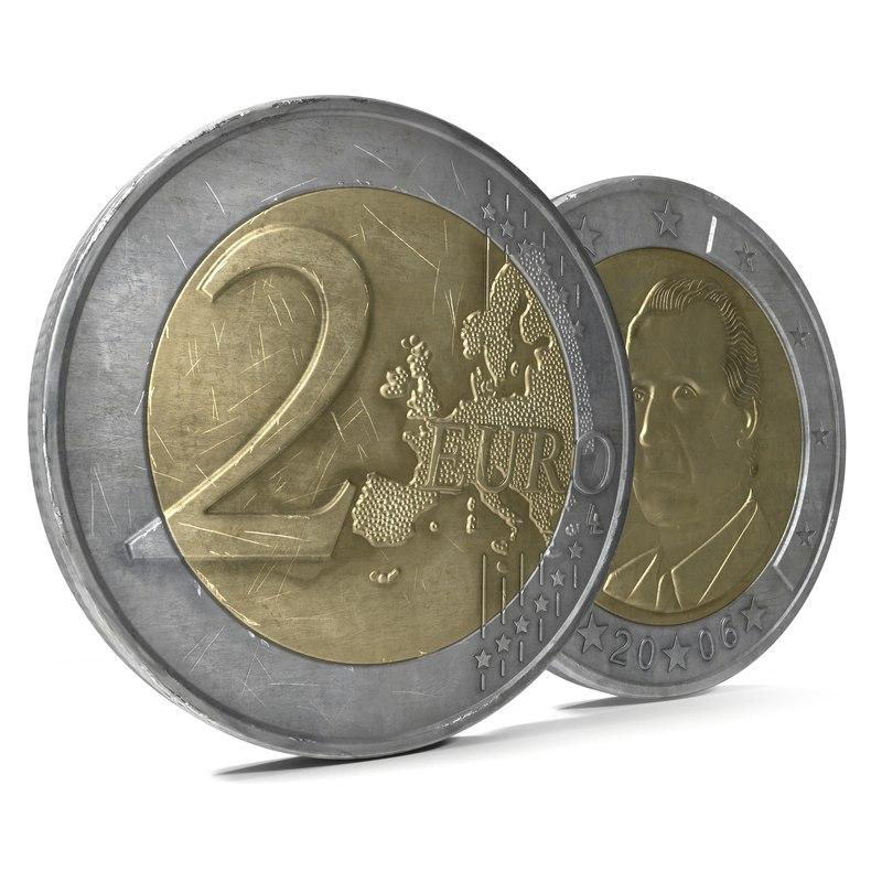 2 Euro Coin Spain