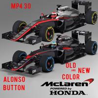 Mclaren F1 3D models