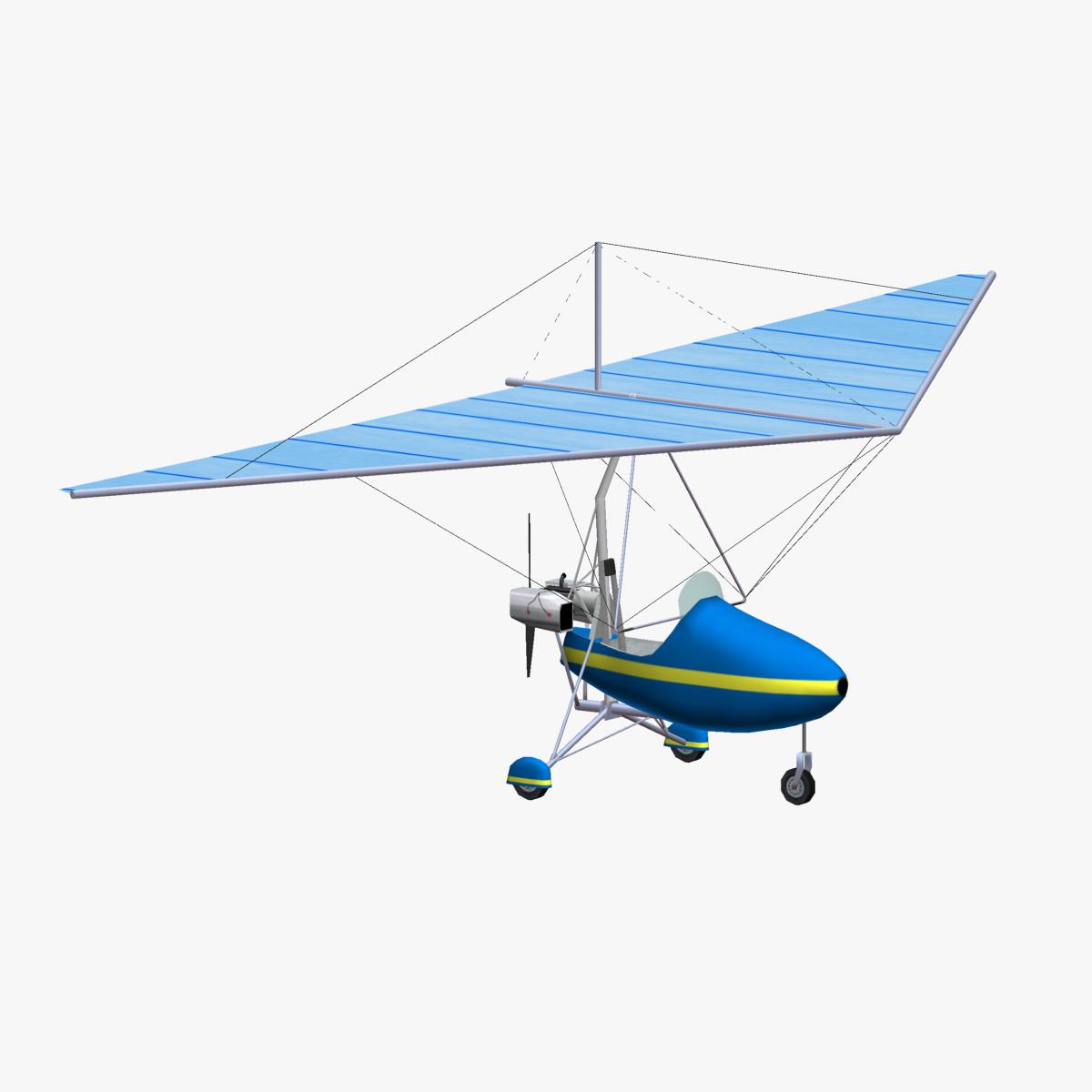 3d Motor Glider