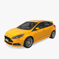 Ford focus 3D models