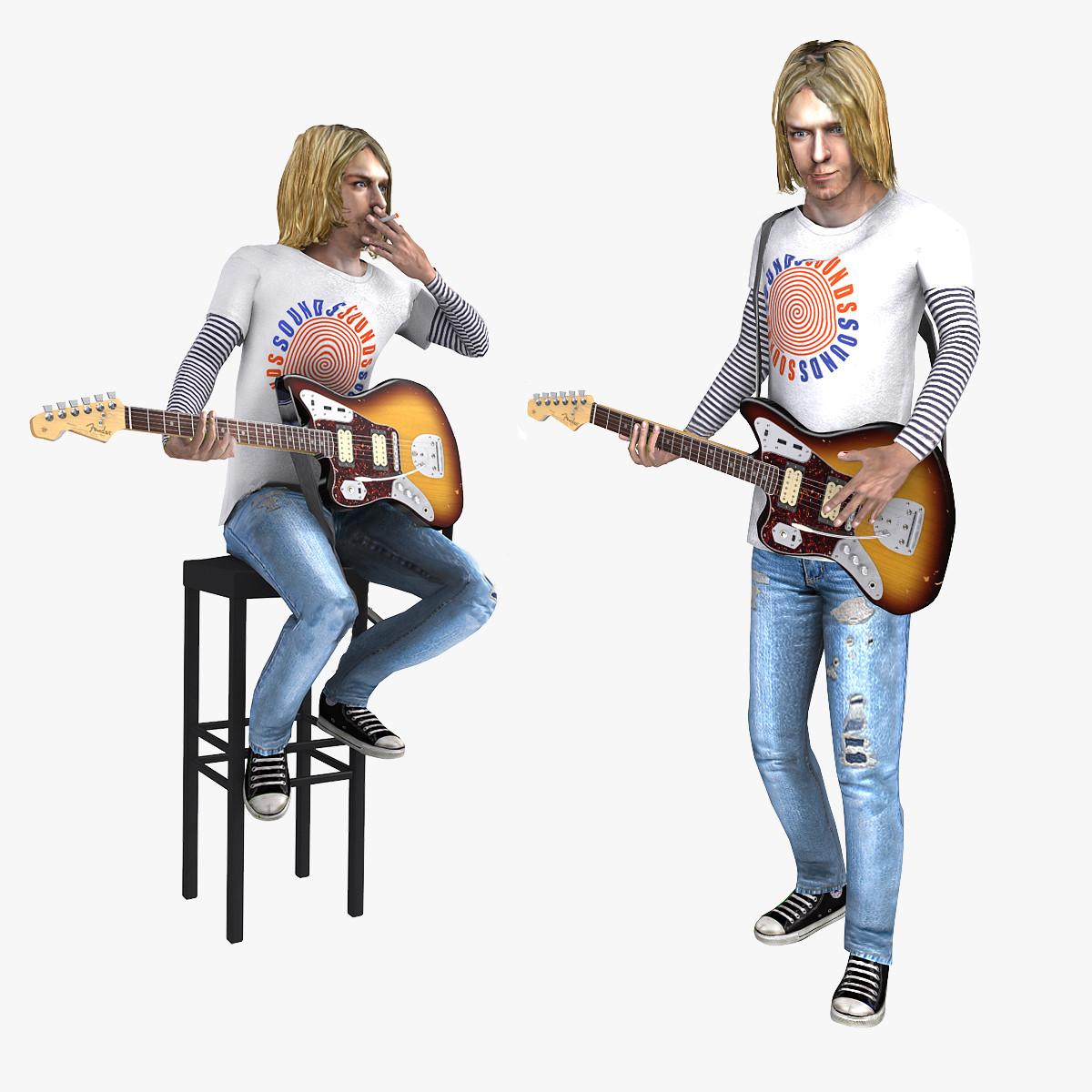 Kurt Cobain Rigged
