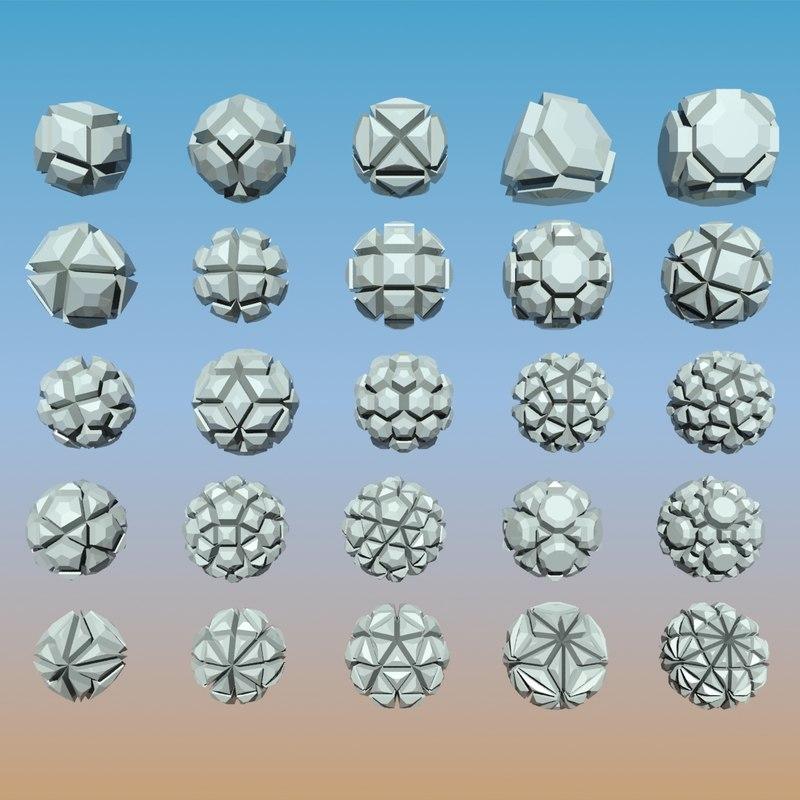 Geometric Shape Pack 04