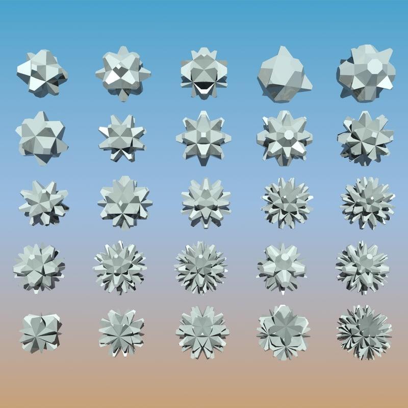 Geometric Shape Pack 07