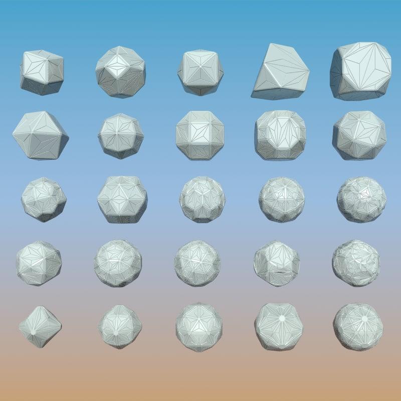 Geometric Shape Pack 10