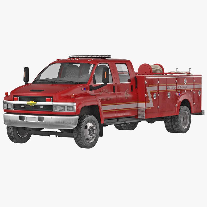 Chevrolet Fire Truck 3d model 01.jpg