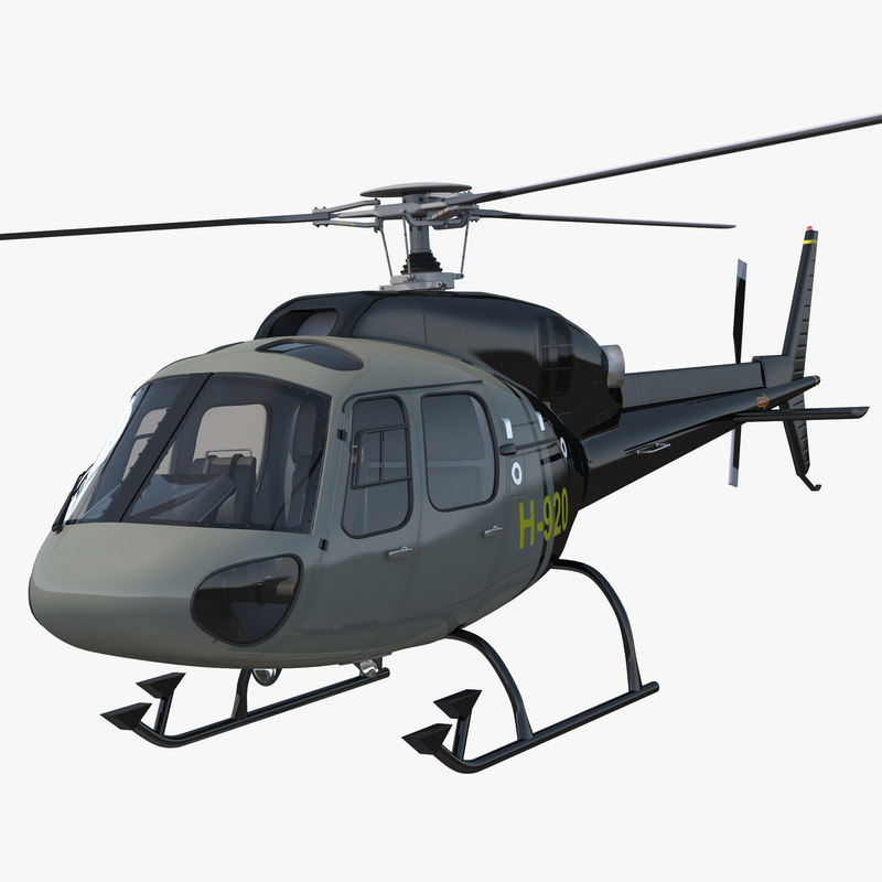 Eurocopter AS 355 Rigged 2