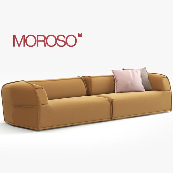 Moroso Sofa 3D Models