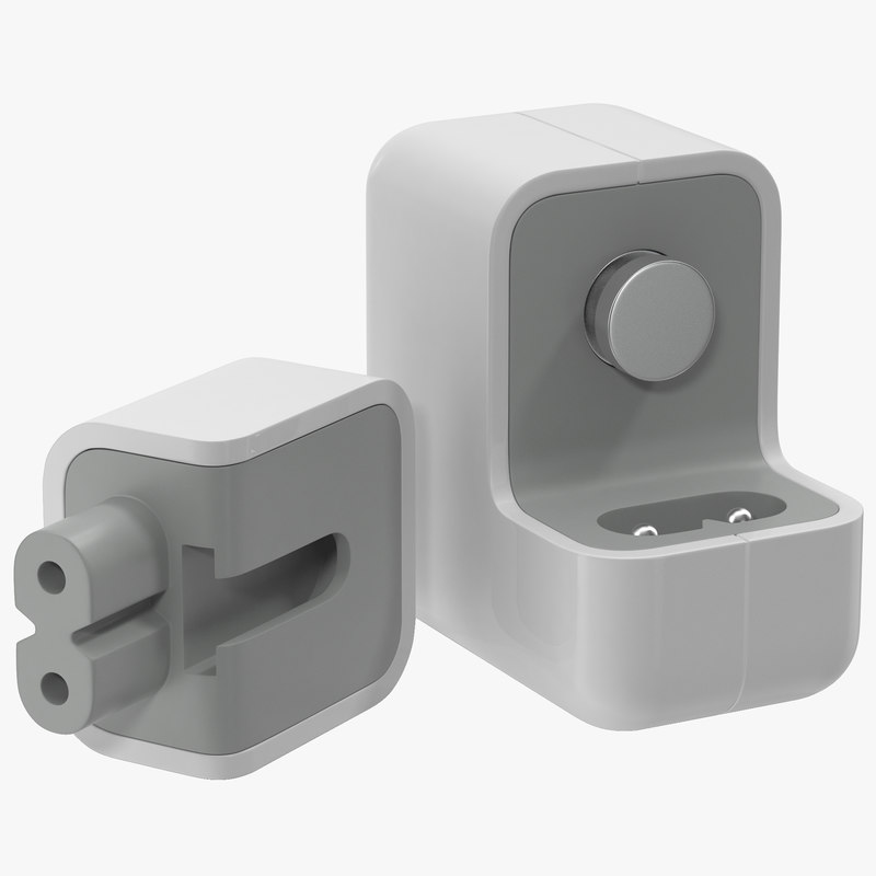 Apple 12W USB Power Adapter 3d model 01.jpg