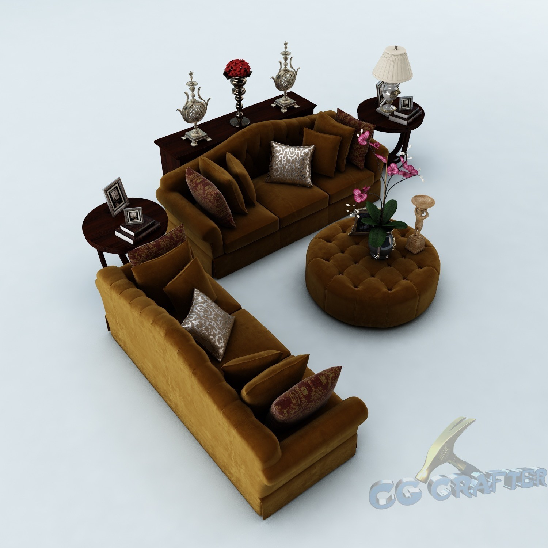 Sofa set 048