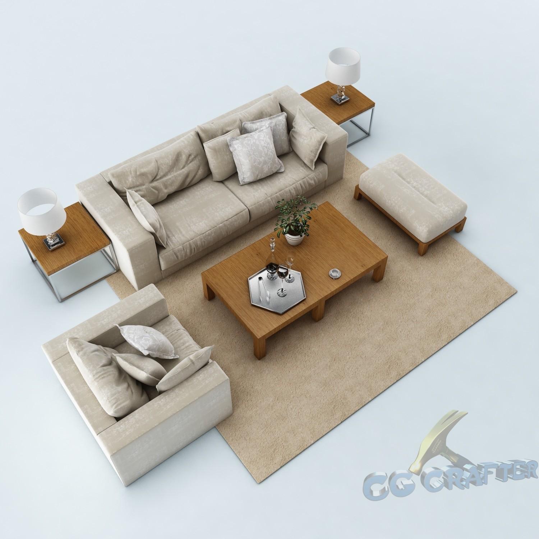 Sofa set 055