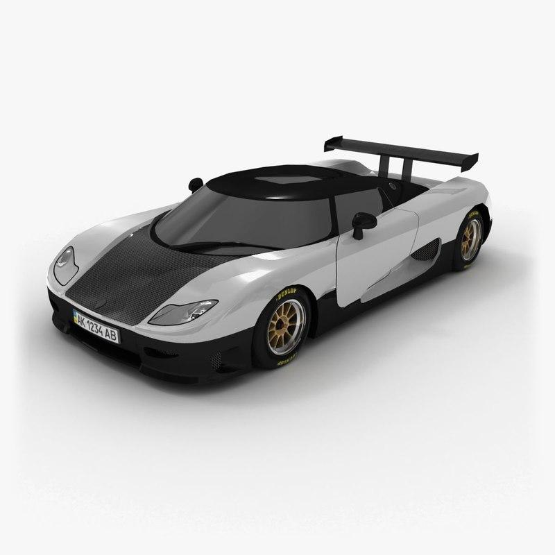 3d koenigsegg 2006 model
