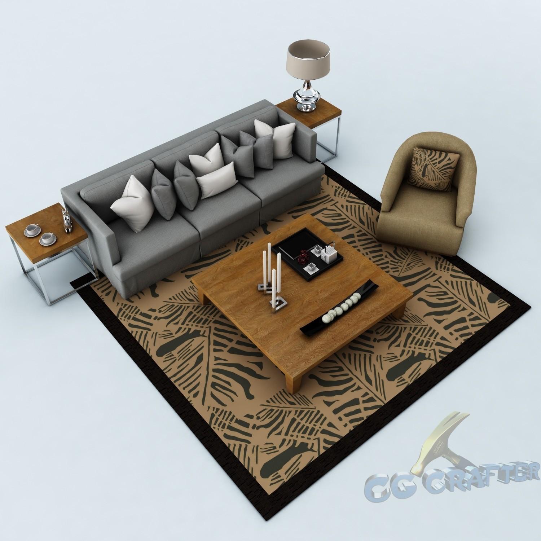 Sofa set 066
