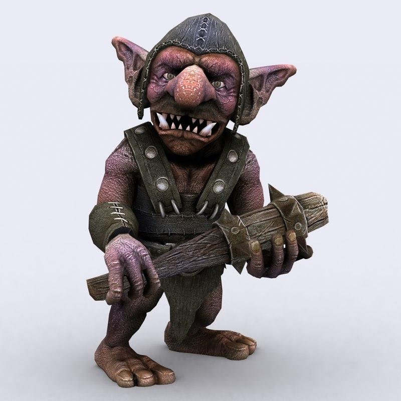 3DRT - Goblin Warriors