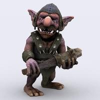 goblin 3D models