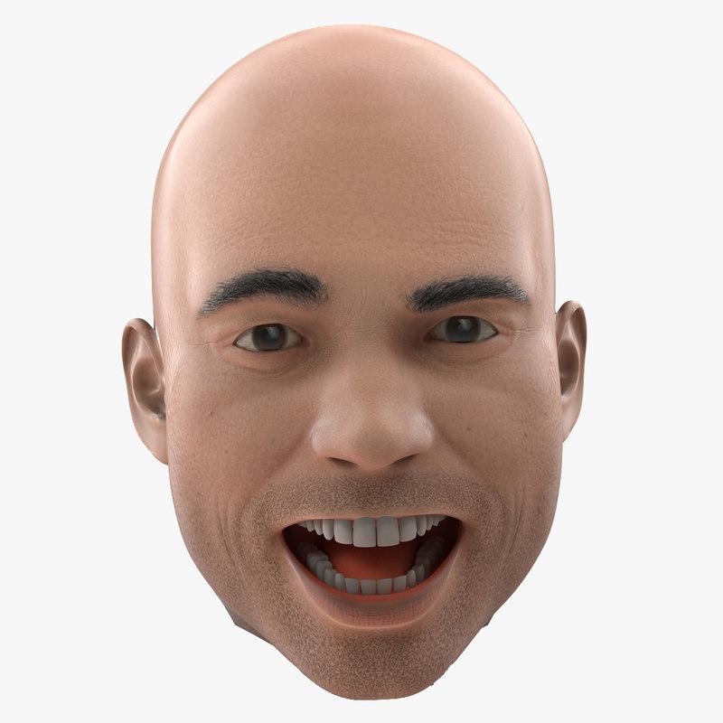 Male Head Rigged 3d model 01.jpg